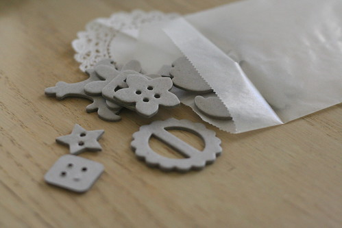 chipboard pieces.