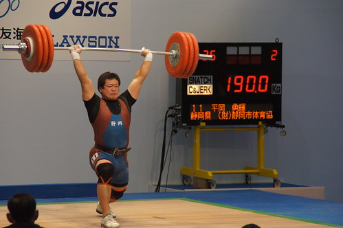 平岡勇輝選手 C&J 190kgの試技