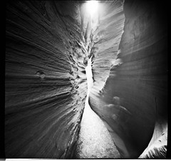 slot2 (thespeak) Tags: longexposure arizona southwest desert canyon pinhole slot zero2000 zeroimage wirepass paria 2011 autaut