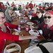 NCSU employees enjoy food and festivities at the tailgate held in their honor before the October 8 football game against Central Michigan. Photo by Kenneth Martin.