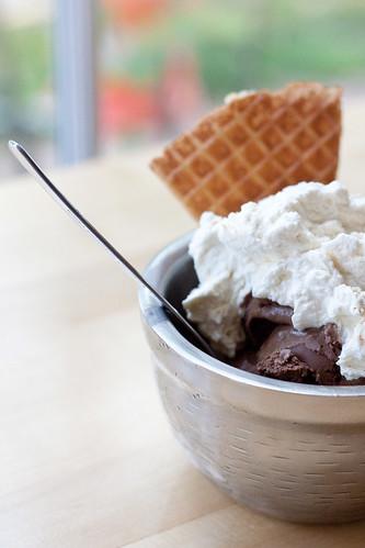 Jeni's Ice Cream Chocomole Sundae
