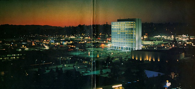 Downtown Bellevue WA - 1971