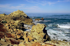 Point Joe, 17-mile-drive ~ Pebble Beach/CA (Wolverine09J) Tags: pacificocean pebblebeach 17miledrive oceanvistas finegold pointjoe rockscapes fantasticnature naturallymagnificent lapetitegalerie natureoftheworldunlimited naturesprime betterthangoodlevel1 naturespotofgoldlevel1 showroomcomment2 pronaturaandlandscape blinkagainforinterestingimages anaturecanvasnothingmanmade ddfordefeatingdiabetes californiawildlifecentralcoast californiascenics
