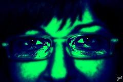 Four Eyes (@laroj@) Tags: color eye colors face four glasses eyes occhi viso occhiali occhiale