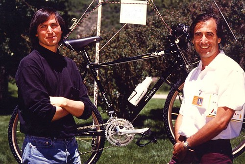 Steve Jobs and Cinelli