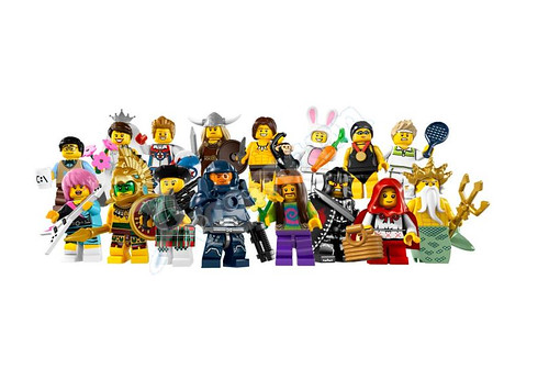 Series 7 Collectible Minifigs