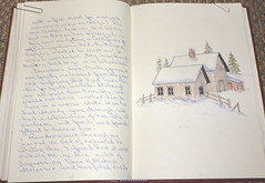 2011/10/06 treasure book 7.40 (nonie vogue) Tags: book sketch treasure 7 watercolour
