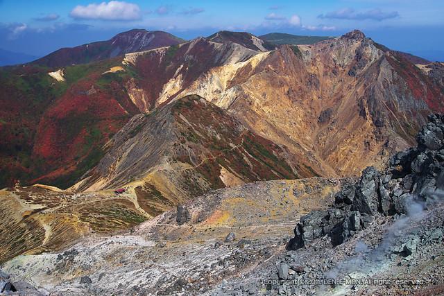 Mt. Asahi-dake in autumn #2