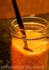 Flat White, Berwick St, Soho - Sugar jar