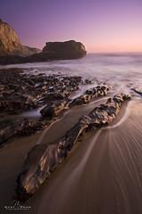 Sunset in Davenport (ongdiasj) Tags: california santa sunset west beach coast nikon north cal cruz norcal nikkor davenport nor 1635mm d700