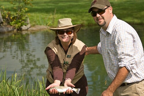 Teaching the Wife to Fish