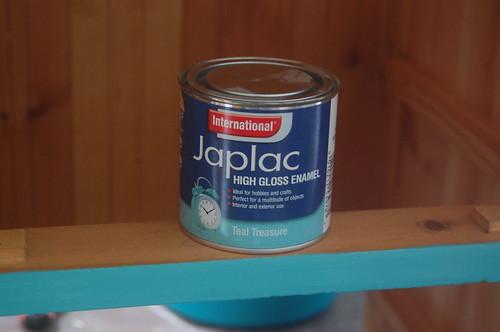 Japlac paint