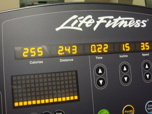 Treadmill intervals