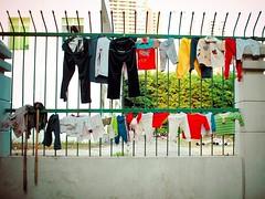 Laundry Day (imvern) Tags: china street pen four day olympus clothes wash laundry micro chinadigitaltimes mop f28 nanning drying thirds ep2 guangxi 17mm m43 mzuiko yuandongerli