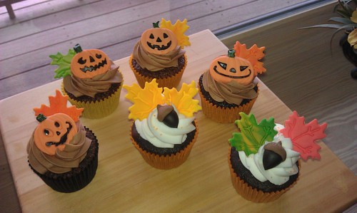 Fall cupcakes by mick6799