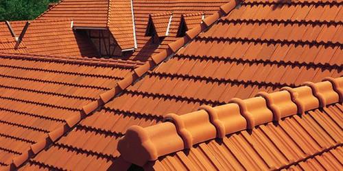 techos de tejas francesas