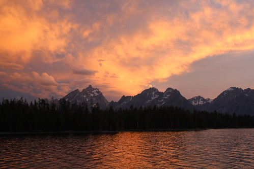Camping in the Grand Tetons