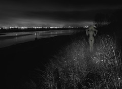 naked ghost of Speke (Steve Toner) Tags: girls light blackandwhite beauty mystery night liverpool dark nude tits sad ghost surreal nighttime mystical depressed dreamy nightmare disturbed dreamlike mothernature moonscape kinky fascinating lynchian derilict raunchy seedy speke apocolyptic ellesmereport weirddoll spekeliverpool ghostlywoman kinkybitch