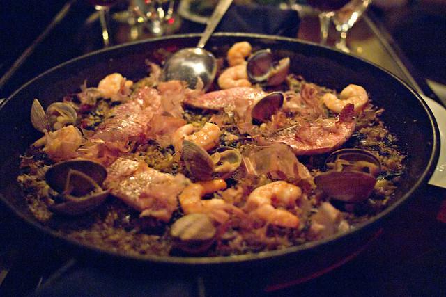 seafood paella @ socarrat