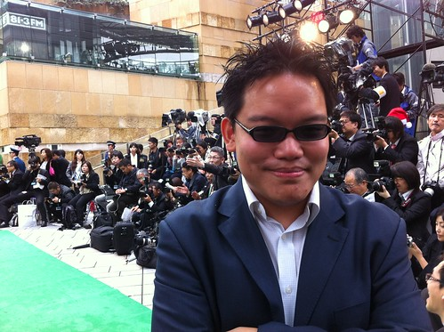 Me at the Green Carpet
