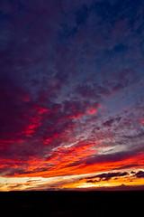 Desert Sunset - 16 (www.bazpics.com) Tags: trip travel sunset sky usa cloud color colour oregon america tour desert dusk or barryoneilphotography