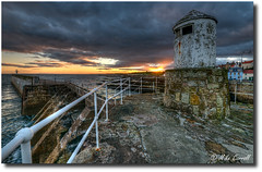 Harbour Light (carrmp) Tags: uk light seascape landscape scotland niceshot fife navigation breakwater pittenweem mygearandme