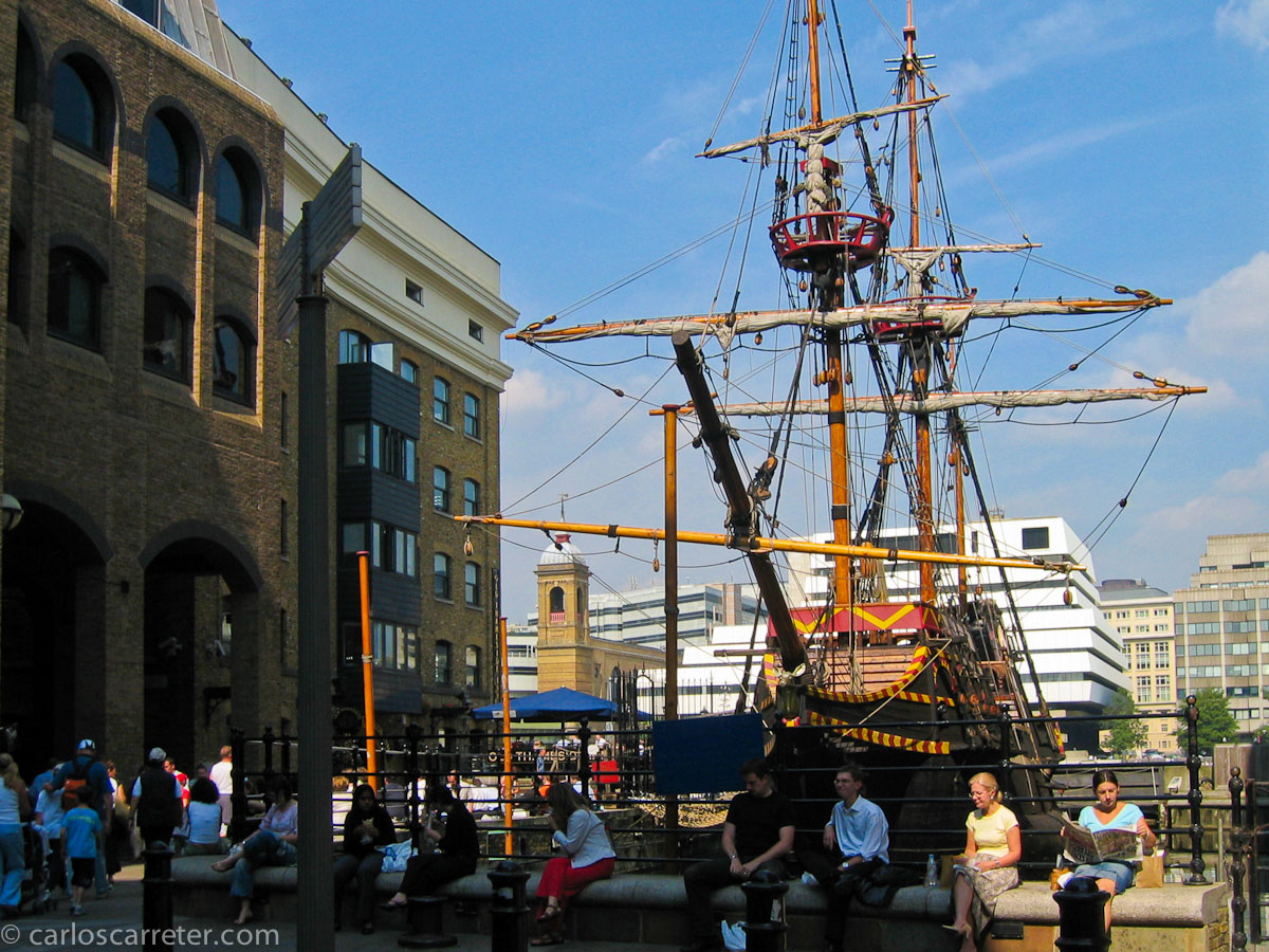 El barco de Drake (The Golden Hinde)