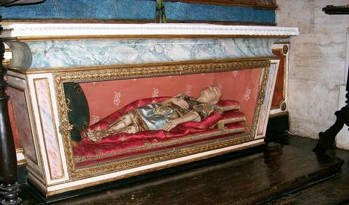Martir Extraido de Catacumbas Romanas