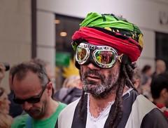 Spiritual Man (Hanjosan) Tags: street people man copenhagen nikon candid photoshopped spiritual matchpoint d90