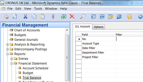 """What is """"No  of Blank Lines"""" Field on G/L Account card used"""