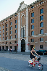 _DSC2598 (durr-architect) Tags: city people building water architecture modern belgium felix archive warehouse antwerp eilandje aday11