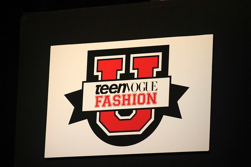 This past Saturday, I was invited to sit in at Teen Vogue Fashion University ...