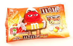 M&Ms White Chocolate Candy Corn Bag
