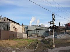 Industrial Valley (Fan-T) Tags: railroad ohio mill yard belt rust track industrial steel cleveland crow ltv mittal cwro
