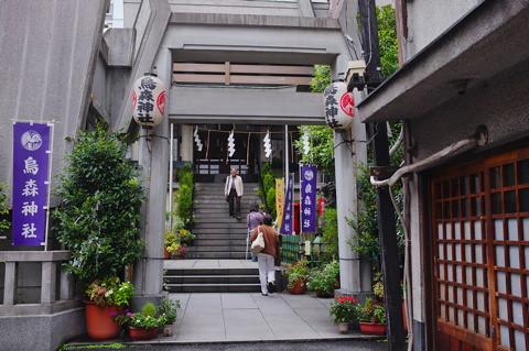 新橋烏森神社界隈