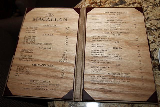 10 Pound drink menu by David Kleeman