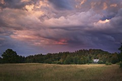 Negaiss Gulbenes Rajona | A Storm in the Gulbene District (thescatteredimage) Tags: summer storm 20d canon landscape latvia thunderstorm 2008 latvija gulbene negaiss