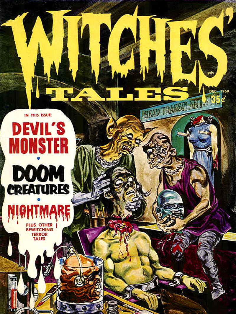 Witches' Tales Vol. 1 #9 (Eerie Publications 1969)