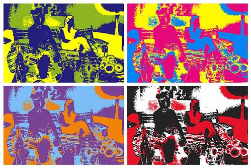 Andy Warhol lookalike by tsrdesign09