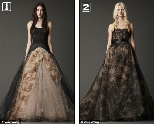 Black Wedding Dresses 1