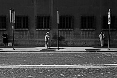 . (ngravity) Tags: street bw italy rome roma canon blackwhite women candid streetphotography nun nocrop eos50d makrygiannakis