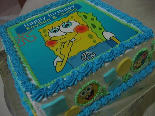 Sponge Bob (Edible Image) - Rayhan #2