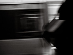 DC metro moments (+2 in comment) (Kohei Ueda (f.k.a. Lindeberg Feller)) Tags: city bw 3 motion blur digital washingtondc town dc washington movement metro iii monotone snap move gr ricoh  grd3