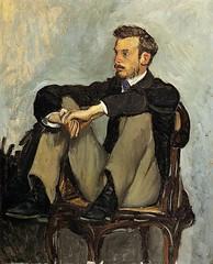 Renoir, 1867 - artist Frederic Bazille