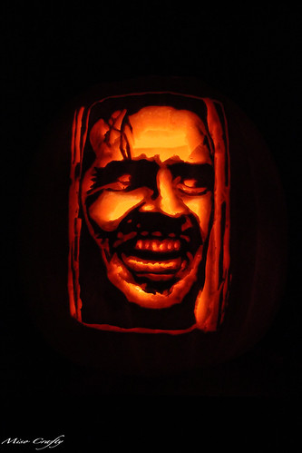 Halloween 2011 - The Shining Pumpkin