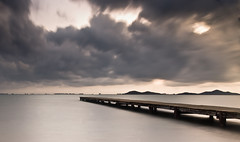 The pier (Luisgbb) Tags: longexposure murcia marmenor