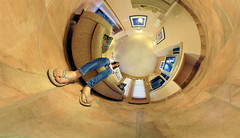 A Bugs' Eye View of the History Channel (BongoInc) Tags: panorama distortion fisheye flexify nikond90 lilacalilcampos