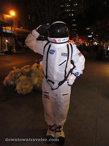 NYC Village Halloween Parade 2011_NASA astronaut