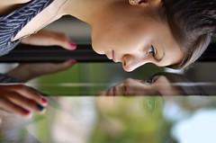 mythos (Laurarama) Tags: nov family portrait reflection glass nikon child gap teen rotation myth narcissus odc dualism d7000 nikkor50mm18g gapnov