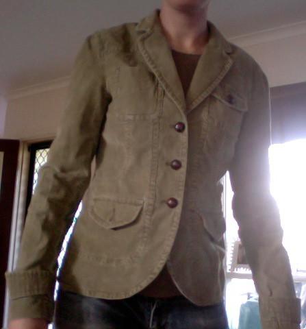 Jacket. Front. $5